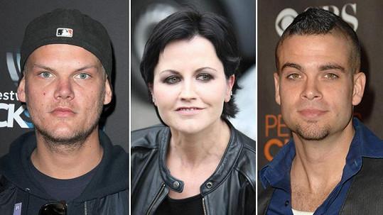 Tyto celebrity předčasně odešly na onen svět.
