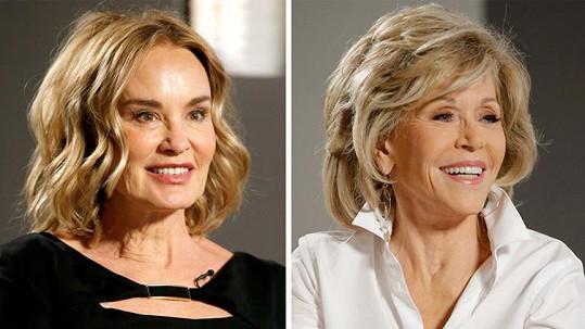 Jessica Lange a Jane Fonda