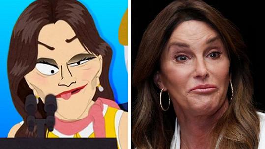 Caitlyn Jenner v seriálu moc parády nenadělá...