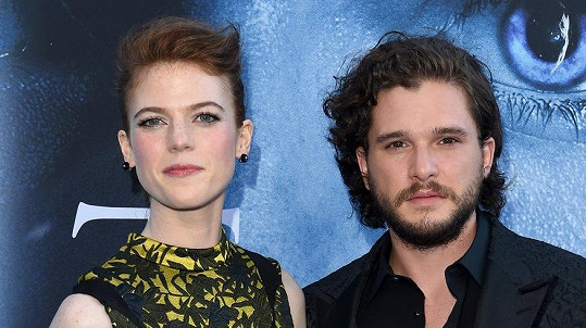 Kit Harington a Rose Leslie