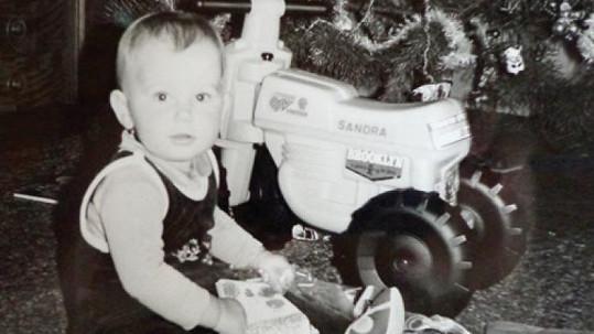 Takhle slavila v dětství Vánoce známá moderátorka.