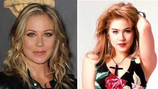 Christina stárne do krásy.