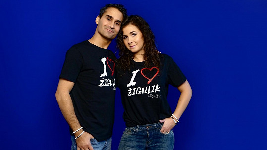 Radek Banga začal s manželkou vyrábět originální trička
