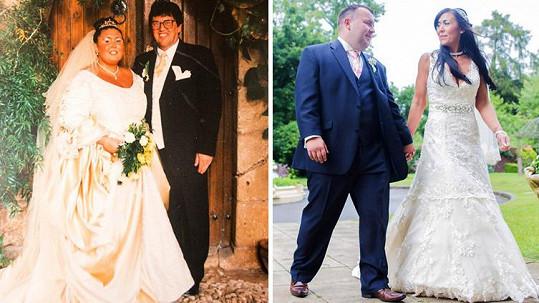 Sarah se dvakrát vdávala, pokaždé vypadala úplně jinak.