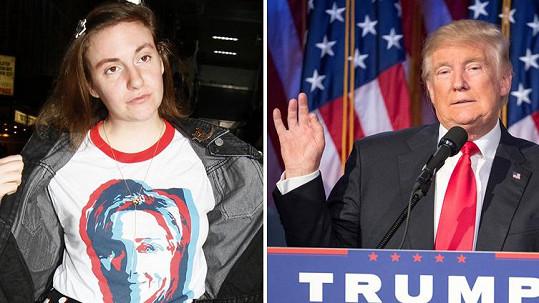 Lena Dunham neuspěla, stejně jako Hillary Clinton.