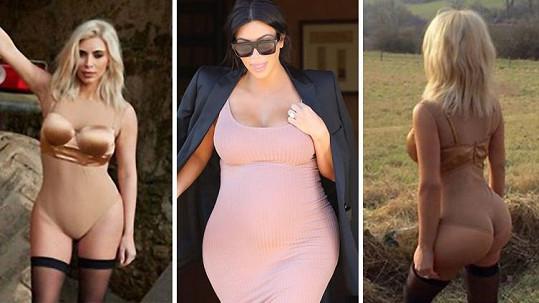 Sexy křivky Kim už jsou minulostí.