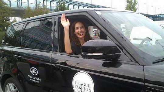 Supermodelka Eugenia Silva je v Praze.