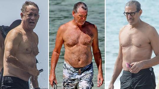 Slavní herci šli do plavek.