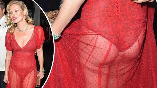 Kate Moss to tentokrát příliš nevychytala.