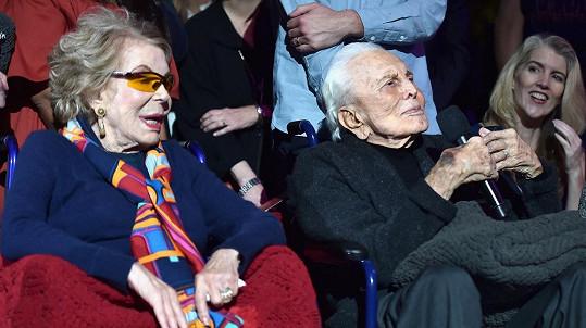 Kirk a Anne Douglasovi