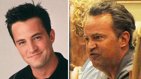 Matthew Perry už Chandlera moc nepřipomíná.