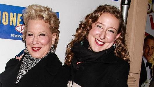 Bette Midler s dcerou Sophií
