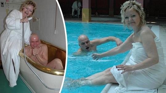 Hrušková a Přeučil si umí užívat i ve zralém věku.