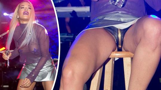 Rita Ora by měla držet nohy u sebe.