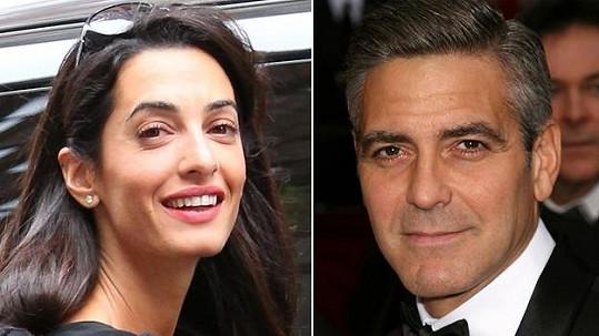 Tato žena má být zasnoubena s Clooneyem.