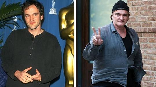 Quentin Tarantino narostl do obřích rozměrů.