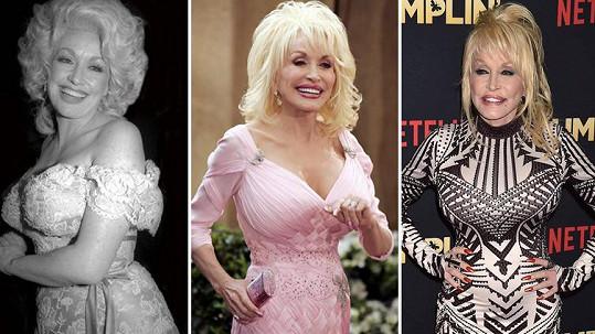 Dolly Parton v průběhu věků