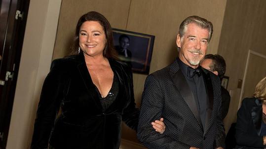 Pierce Brosnan a jeho žena Keeley