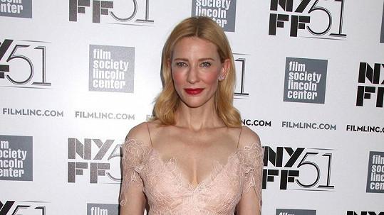 Cate Blanchett nikdy nezklame.