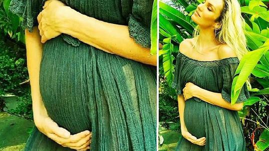 Candice očekává další miminko.