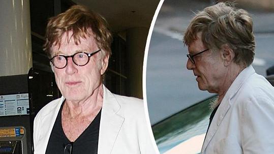 Robert Redford vizuálně zpomaluje stárnutí barvením vlasů.