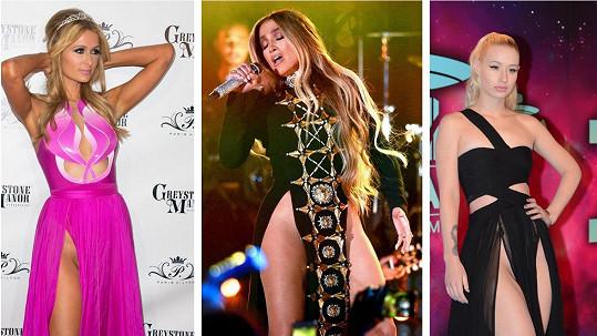 Tyto slavné celebrity si na spodní prádlo příliš nepotrpí.