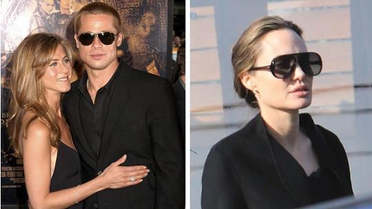 Jak reagovala Angelina na setkání Brada s Jennifer?
