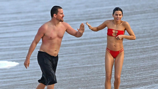 Channing Tatum s manželkou