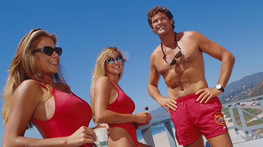 David se proslavil seriálem Pobřežní hlídka.