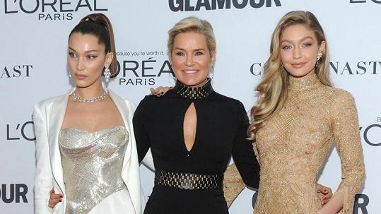 Yolanda Hadid a její dvě krásné dcery