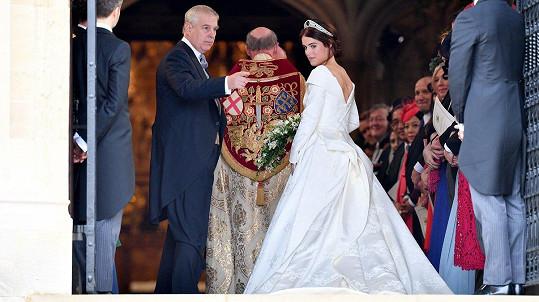 Princezna Eugenie už je vdanou paní.
