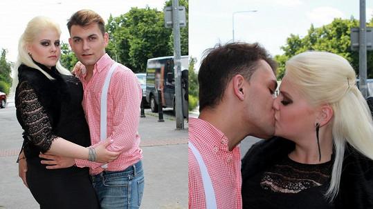 Charlotte s přítelem Michalem