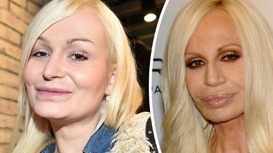 Eva miluje vylepšování, stejně jako Donatella.