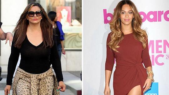 Tina Knowles je starší kopií své slavné dcery.