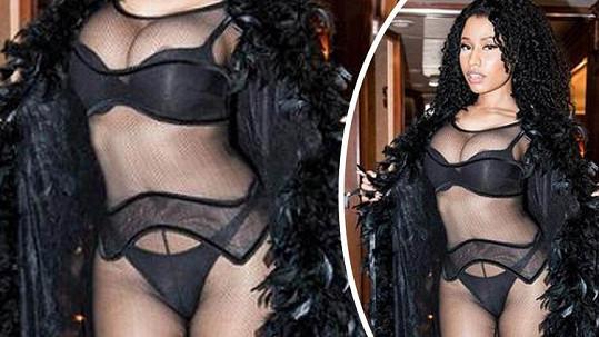 Nicki Minaj se oblékla jako prostitutka.