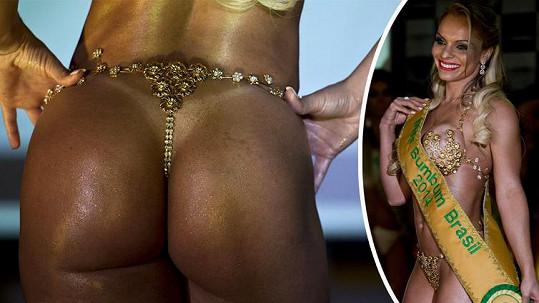 Vítězkou soutěže Miss Bumbum 2014 se stala Indianara Carvalho.