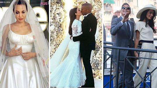 Tyto celebrity si letos vystrojily svatbu.