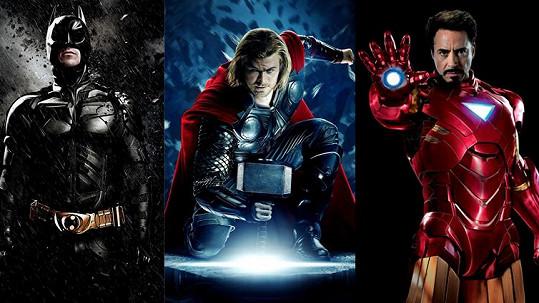 Batman, Thor i Iron Man se letos stali tatínky.