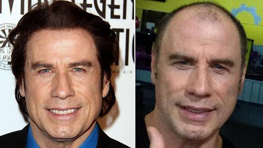 Takhle se John Travolta proměnil za jediný den.