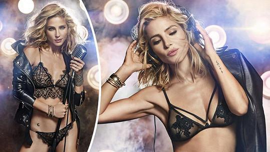 Elsa Pataky zazářila v sexy kampani.