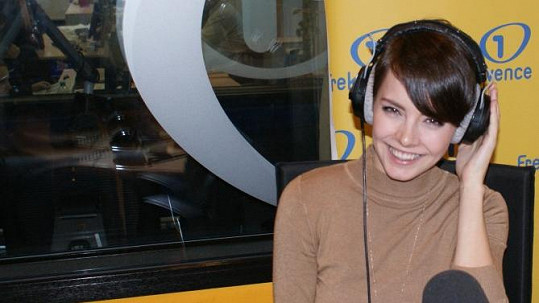 Gabriela Kratochvílová si vyzkoušela moderování v rádiu.