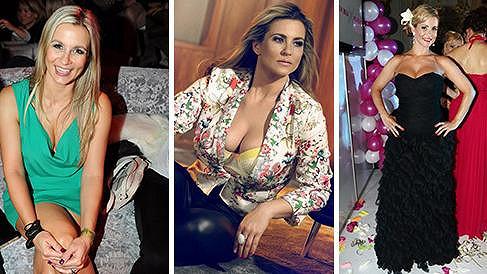 Monika Marešová ráda nosí odvážné dekolty.