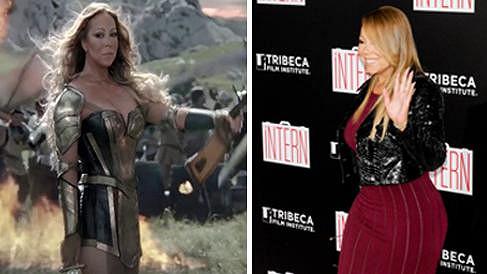 Mariah Carey se ráda nechává graficky vylepšovat.