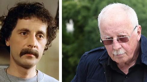 Jiří Datel Novotný v roce 1983 a před dvěma měsíci