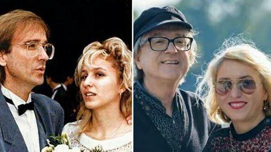 Meky Žbirka s manželkou před 30 lety a dnes