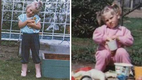 Z této holčičky vyrostla rockerka.