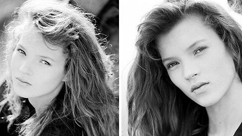 Čtrnáctiletá Kate Moss na fotografiích, které ležely dlouhá léta ukryté v šuplíku.