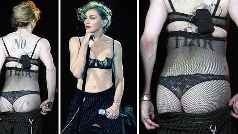 Madonna se v Hyde Parku odvázala.