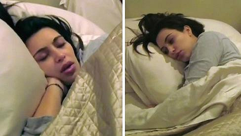 Kim Kardashian prožívala muka.