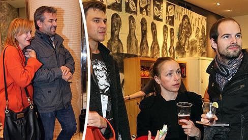 Na koncertě Dana Bárty se sešla taková partička, která se jen tak nevidí.